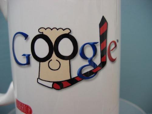 My Google Dilbert Logo Mug