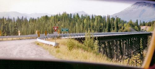 Approaching The Kuskulana Bridge