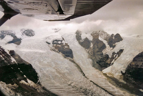 Glaciers Out Of The Clouds