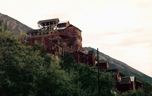 Kennecott Mine On Hill