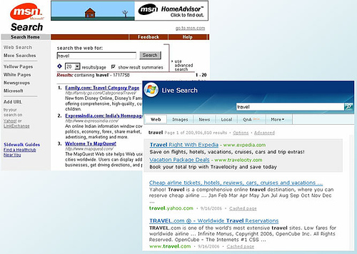 Microsoft Search Then & Now