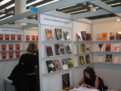 Small Vendors At Frankfurt Book Fair