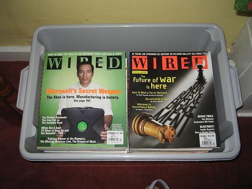 Magazine Archival Bin