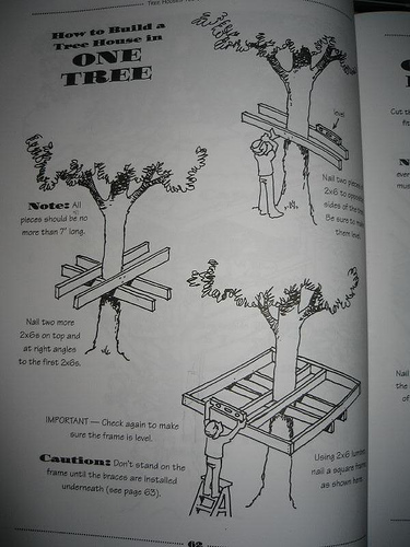 Tree House Plans, Professional Style