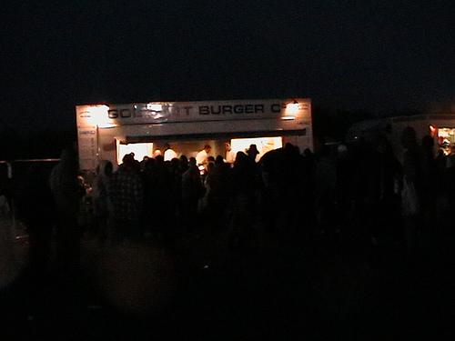 Burger Stand @ Stonehenge