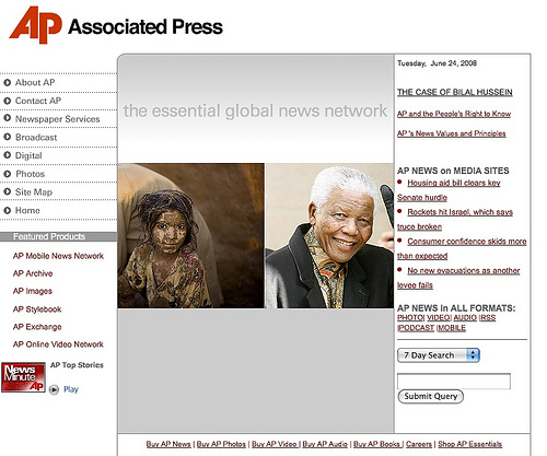 The Associated Press Home Page