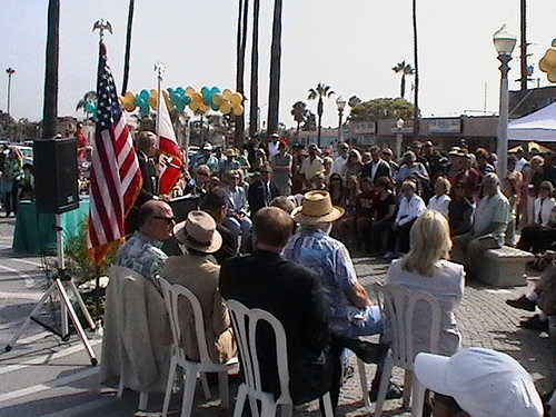McFadden Square Monument Unveiling