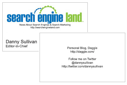Twitter Address: Now Mandatory For Business Cards?