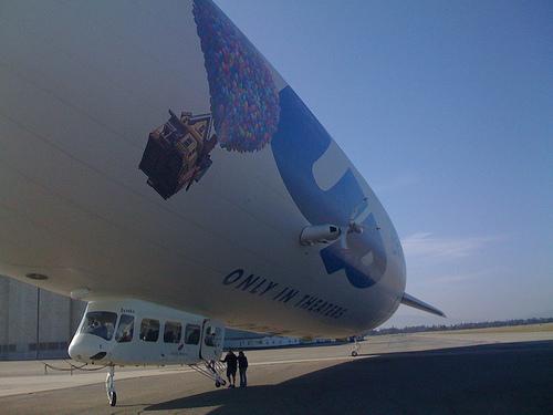 Zeppelin Eureka, Landing