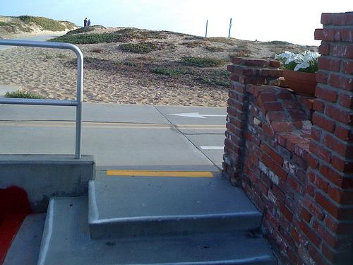 New Balboa Boardwalk Striping