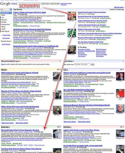 Google News On Microsoft-Yahoo