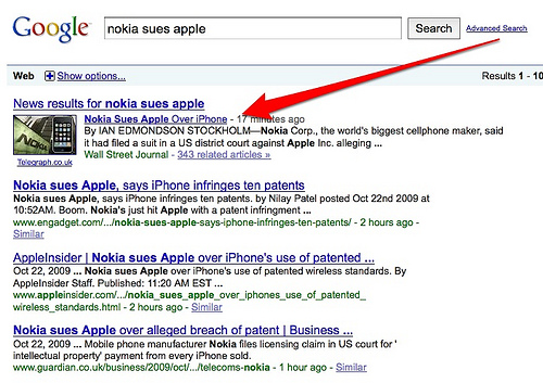 nokia sues apple - Google Search
