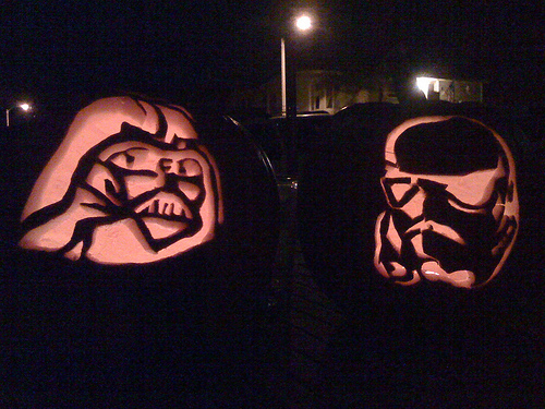 Halloween Pumpkin Carving Stencils That Bring Star Wars & More To Your Porch