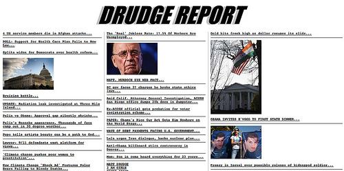 DRUDGE REPORT 2010®