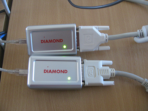 Diamond BVU191 USB-DVI adapter