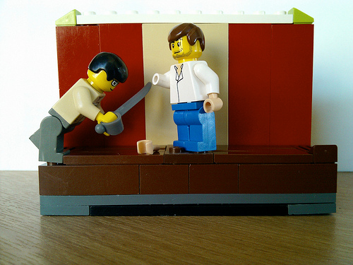 Arrested Development Lego: Buster & Gob