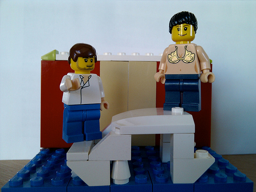 Girls With Low Self-Esteem Lego