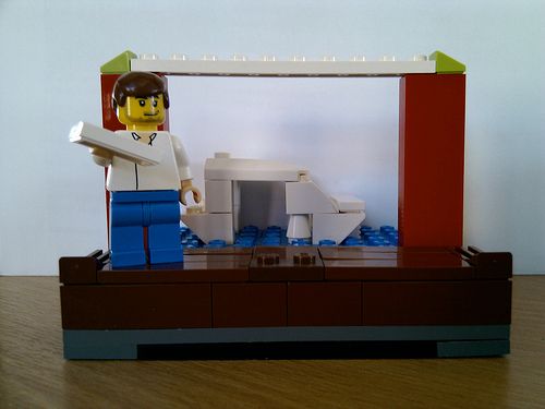 Arrested Development Lego: Gob Makes Yacht Disappear