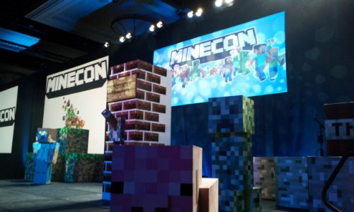 Move Over Angry Birds, It's The Minecraft Coming Out Party