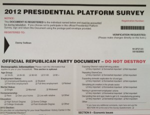 Why I Destroyed An Official Republican Party Document