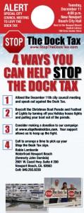 Dock Tax