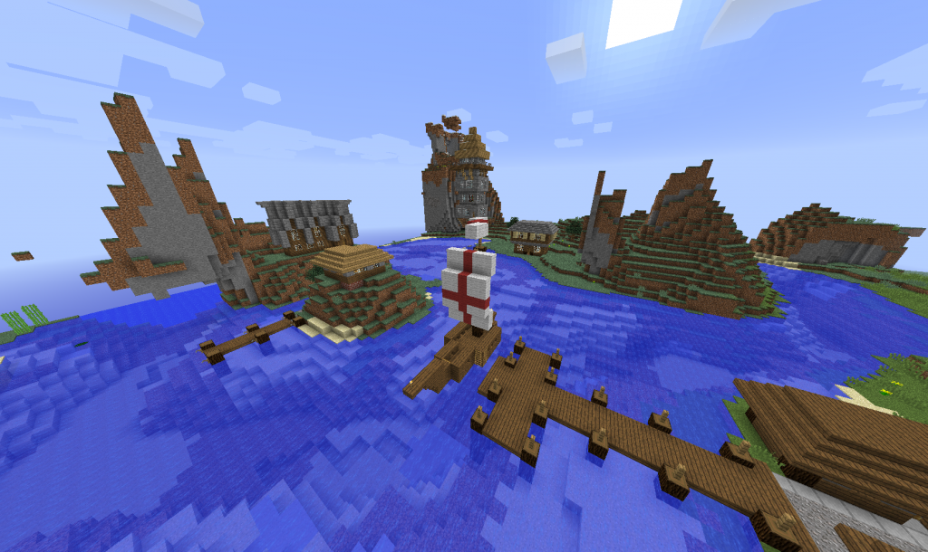Minecraft Seaport