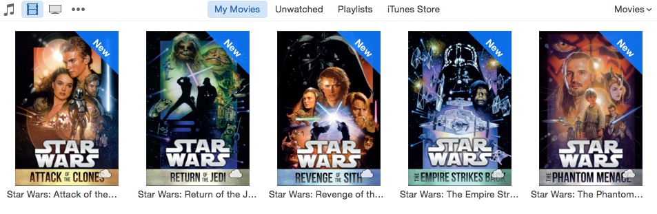 star wars itunes